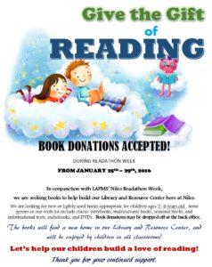 book donations flyer JPEG