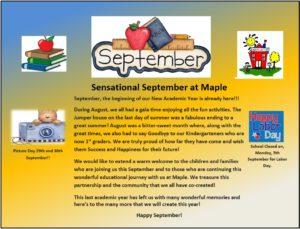 September Blog- Upload