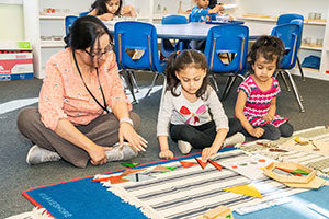 Childcare for essential workers at Learn And Play Montessori.