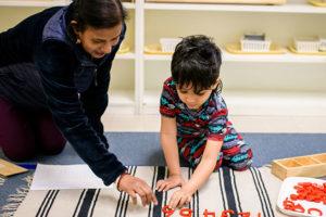 Montessori kindergarten in Dublin