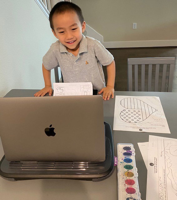 Montessori Monthly Newsletter for Online Learning