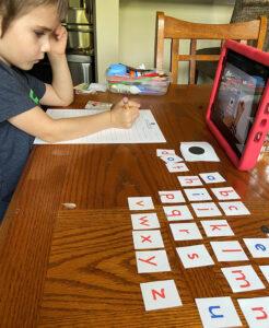 Virtual kindergarten the Learn And Play Montessori way.