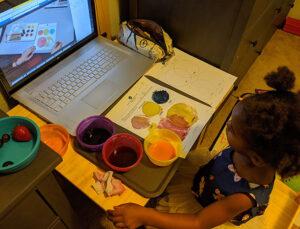 Virtual vs. online vs. homeschool preschool.
