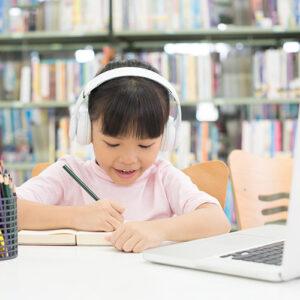 Online preschool activities.