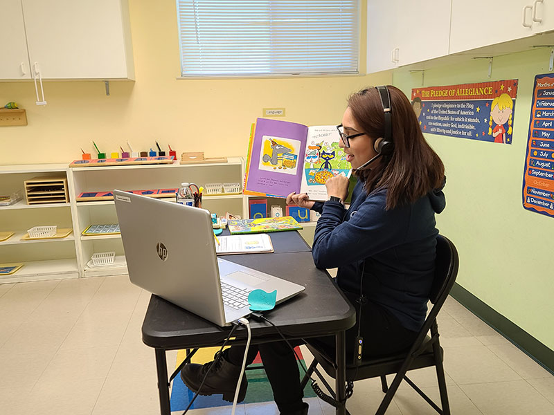 LAPMS Online Learning Photo Gallery