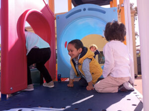 Treating each child individually with the Montessori method.